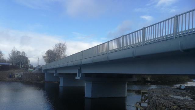 АО «Русские краски»: Окраска моста через Ветху