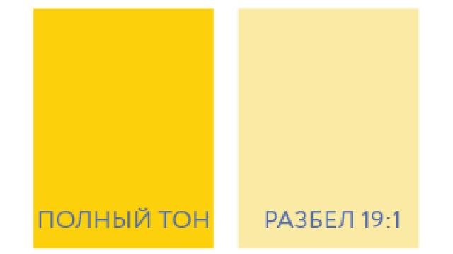 ООО «Холлидей Пигментс»: Новый желтый пигмент производства Sun Chemical