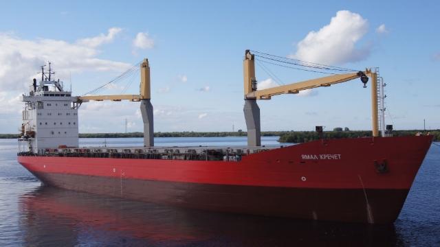 Применение материалов АКРУС® при доковом ремонте универсального грузового судна «Ямал Кречет»